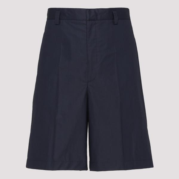 Blue bermuda shorts