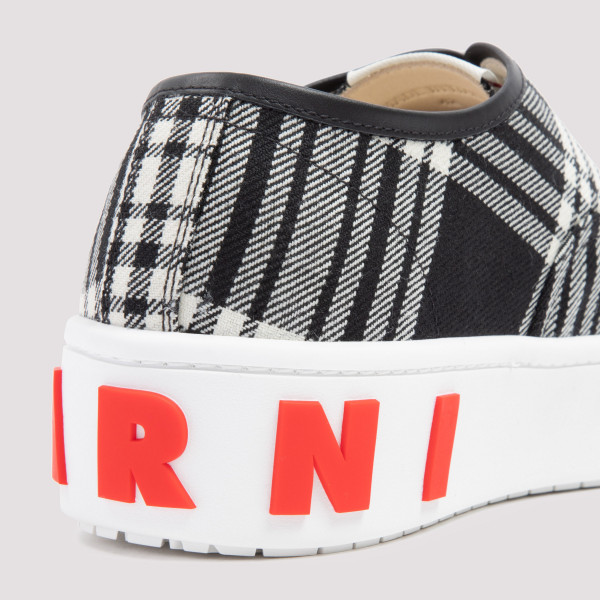 Marni Lace-up Paw Sneakers