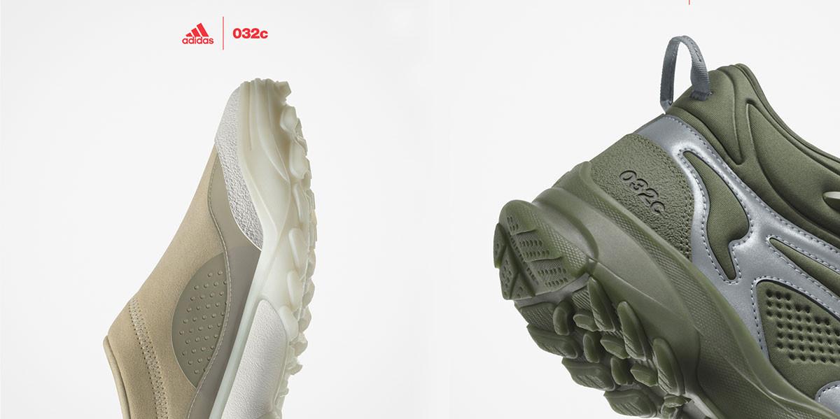 New launch: Adidas x 032c